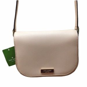 NWT Kate Spade Pale Pink Peach Crossbody Purse Bag